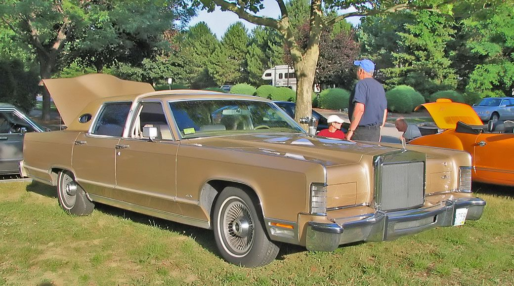 1978 Lincoln Continental 4dr