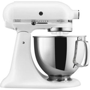 Best Kitchenaid Artisan Tilt Head Stand Mixer Matte White 400 x 300