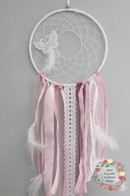 attrape r ves boh me papillon poudr attrape r ves pinterest attrape r ve attrape et. Black Bedroom Furniture Sets. Home Design Ideas
