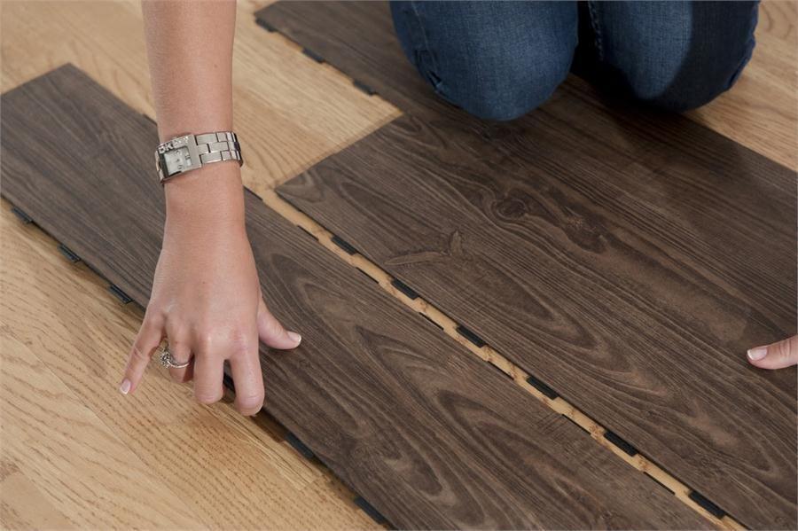 How to install vinyl plank flooring on concrete base