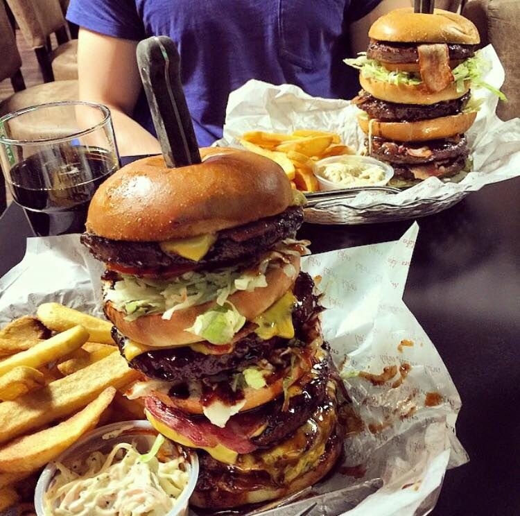 The biggest burger