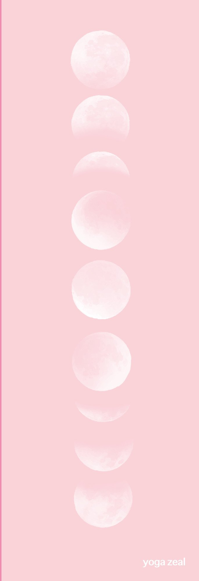 Pink Moon Phases Pink Aesthetic Pink Moon Pink Moon Wallpaper