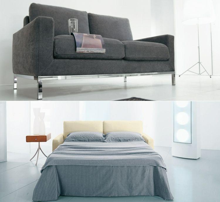 Schlafsofas für kleine Wohnzimmer \u2013 die kompakte Schlafcouch #kleine