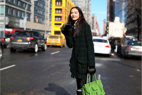 Fashion Week Diary of Tamu McPherson