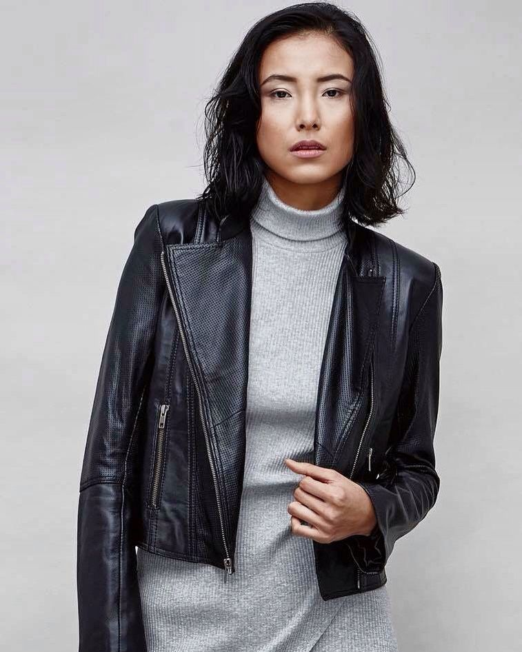 a29d488d3dab Your own designe shop here Black leather jacket was made in Lemona leather  in Seminyak.