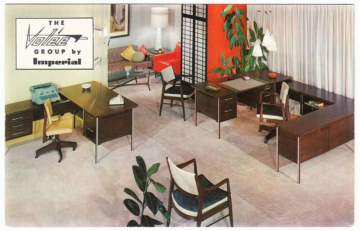 Imperial Volee Office Furniture 1950s