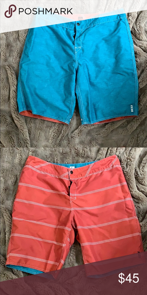 e711f9ab41 Reef Boardshorts Reef boardshorts. Never been worn. Reversible. Reef Swim  Board Shorts
