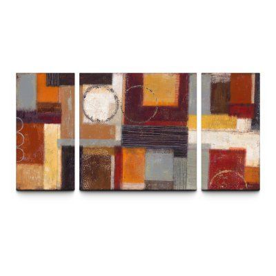 Intensity 30 x 60 textured canvas print triptych 121012 01 08 03