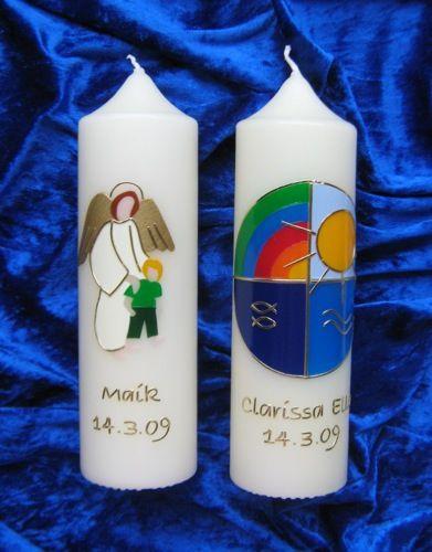 Christliche Kerzen.Taufkerzen Svíčky Kerzen Kerzen Taufkerze Und Zur Taufe