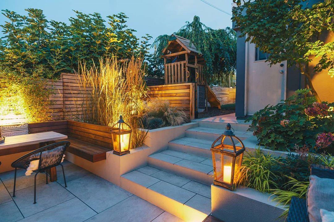 #gardendesign #gardenlighting #moderngarden #gardeninspiration