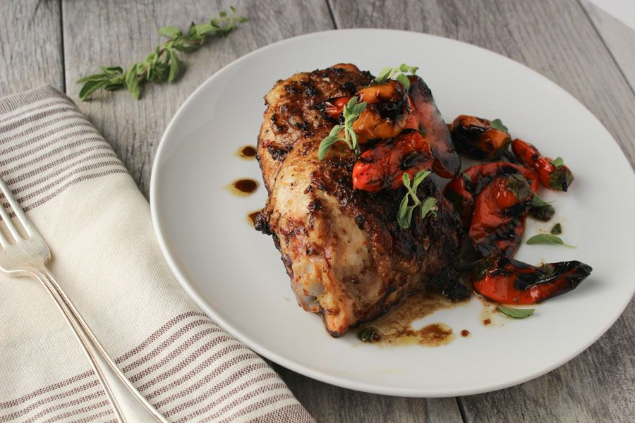 Korean Spiced Chicken Thighs – Dan330
