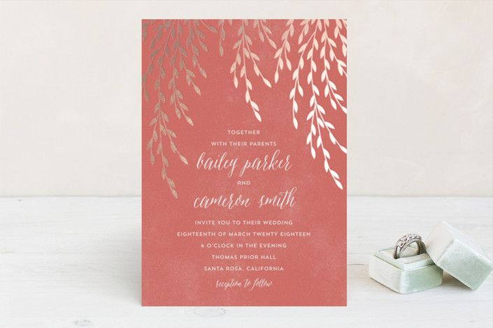 Foil Foliage by Anupama at minted.com