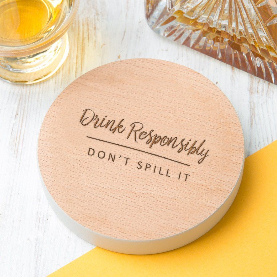 Shop Now! 'Drink Responsibl...  http://www.blueponystyle.com/products/drink-responsibly-dont-spill-it-drinks-coaster?utm_campaign=social_autopilot&utm_source=pin&utm_medium=pin   #etsymntt #EtsySocial #ESLiving #EpicOnEtsy #etsyretwt #gift #ATSocialUK  #shopifypicks