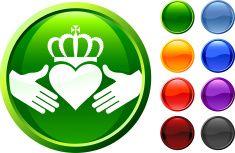 Irish Friendship internet royalty free vector art vector art illustration