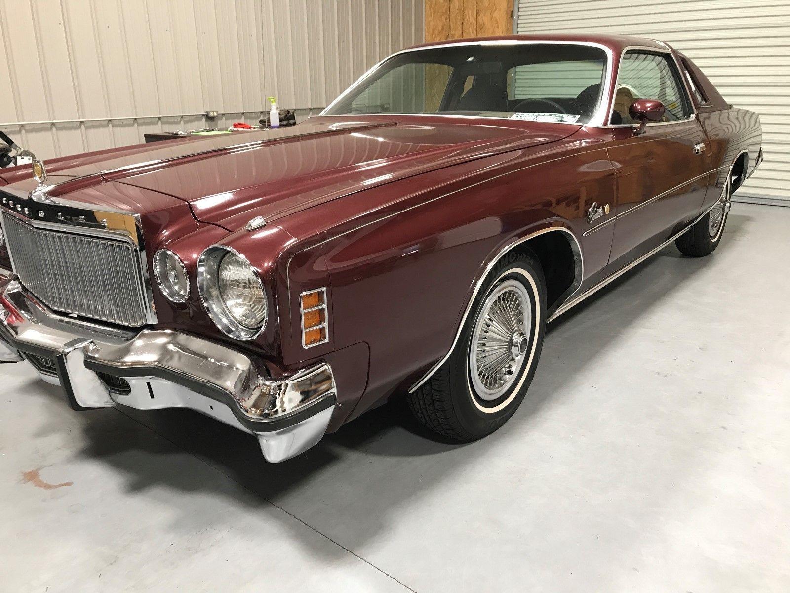 1977 Chrysler Cordoba | Rust free, Luxury auto and Cars