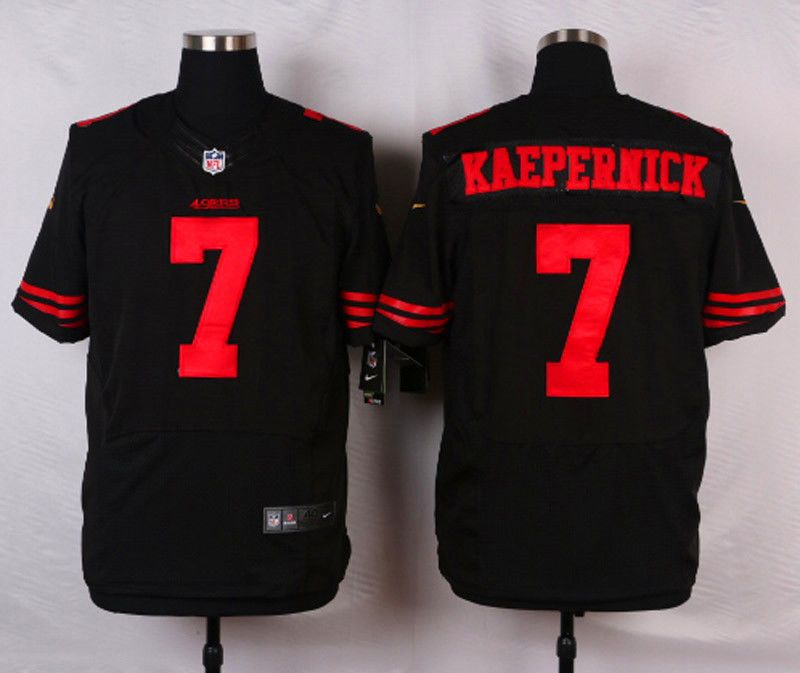 3c7358466f5 San Francisco 49ers Colin Kaepernick black jersey 56 3XL sz  fashion   clothing  shoes  accessories  mensclothing  othermensclothing (ebay link)