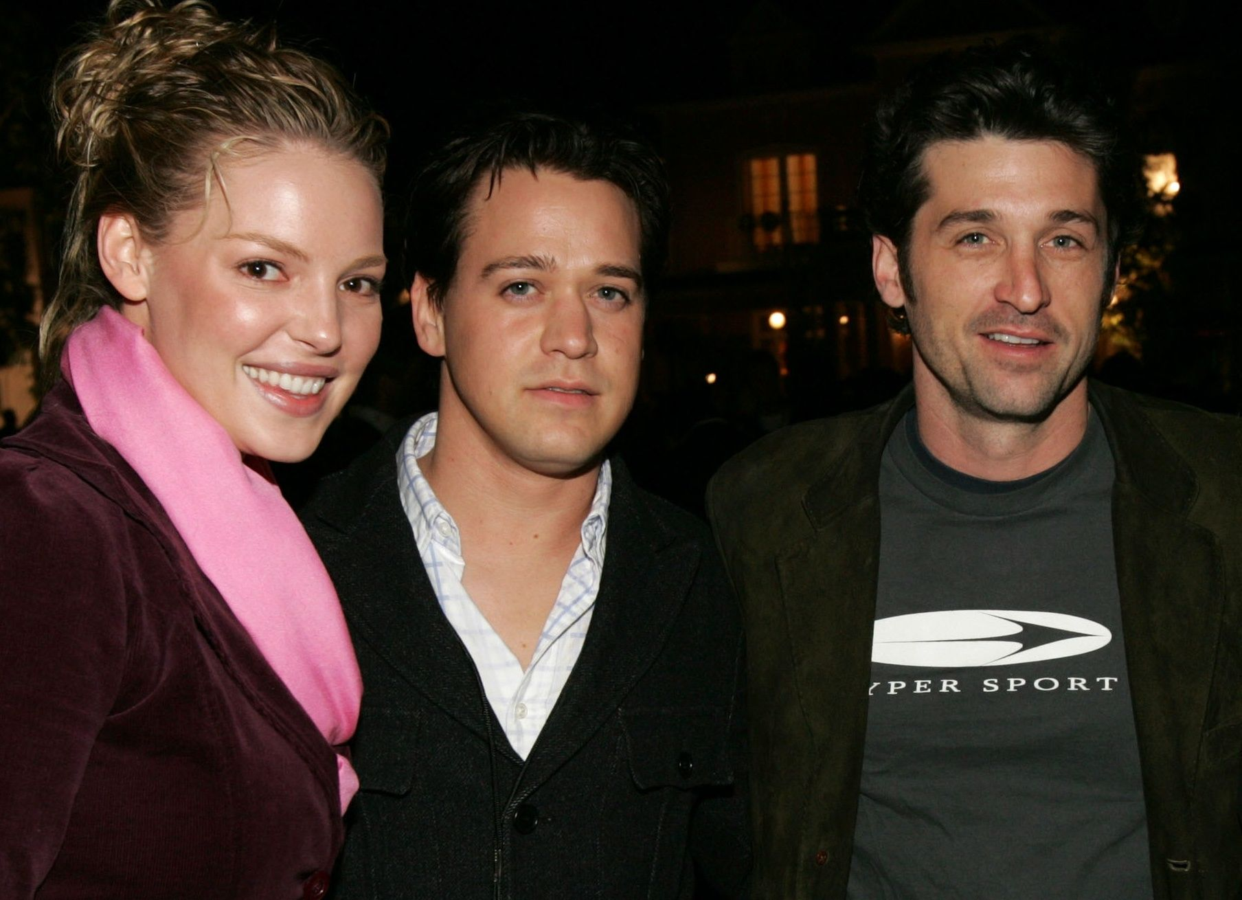 Katherine Heigl, T. R. Knight and Patrick Dempsey | greys anatomy ...