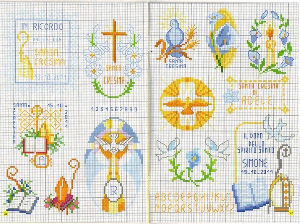 "Très schemi religiosi | punto croce ""religiosi"" | Pinterest | Punto  RL28"