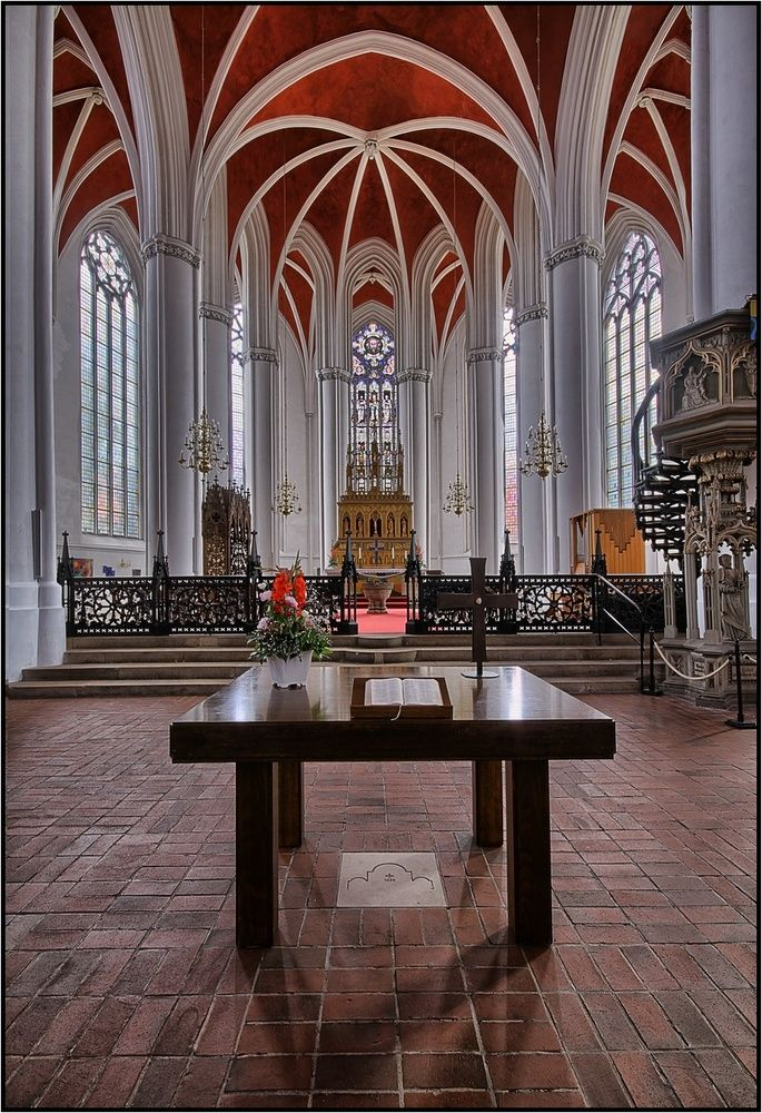 Dom zu Verden | Beautiful churches - inside and out | Pinterest