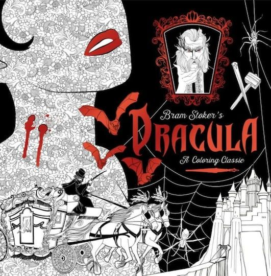 Dracula A Coloring Classic Halloween Coloring Book Coloring Books Halloween Coloring