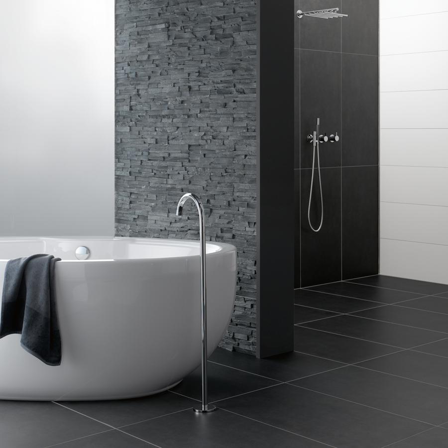 der brick naturstein in schwarz aus quarzit von ambiente by palazzo passt sich als individuelle. Black Bedroom Furniture Sets. Home Design Ideas