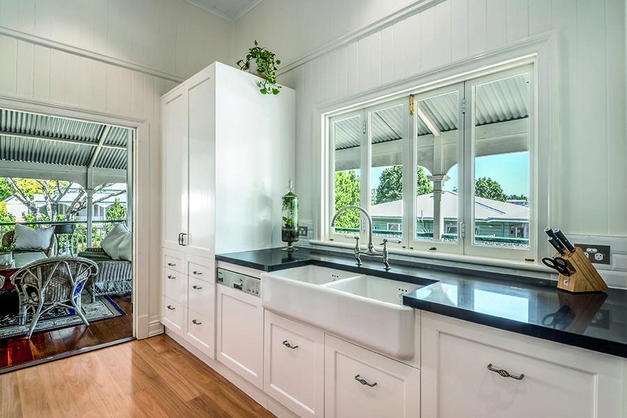 Renovated Queenslander Kitchen House Home Magazine Indoor