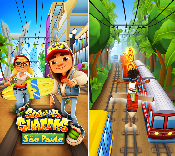 Download Subway Surfers For Bada Samsung Mobile Phone Free Chat Wave