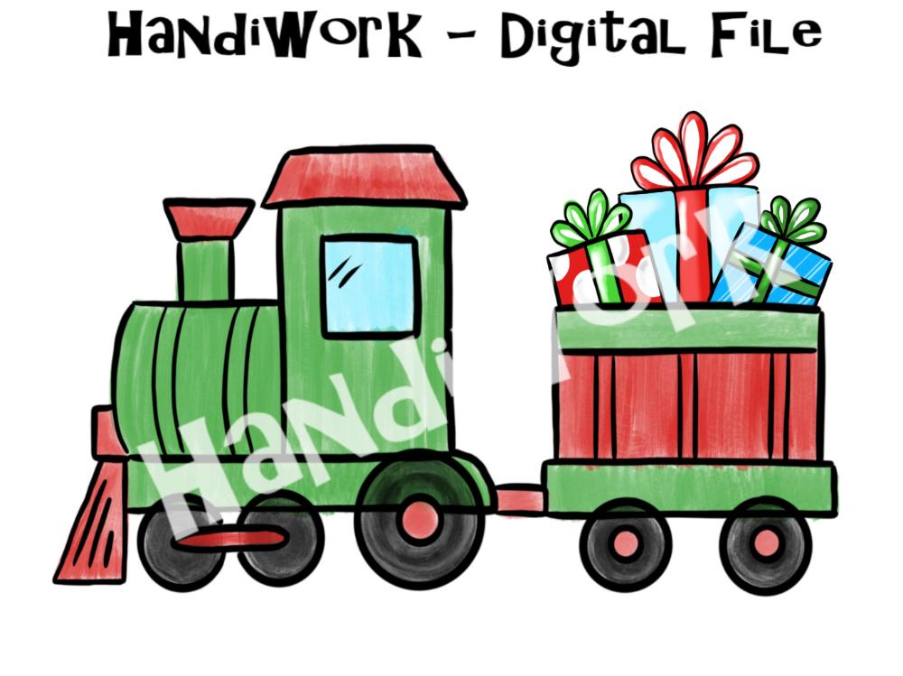 Ducks Christmas Giveway 2021 Train With Presents Png File Christmas Train Design Etsy In 2021 Christmas Train Train Drawing Boys Christmas