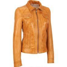 Plus Size Black Rivet Lamb Patch-Pocket Scuba Jacket