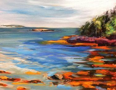 """Saatchi Online Artist: Lynne Schulte; Oil, 2012, Painting """"Friendship Gold"""""""