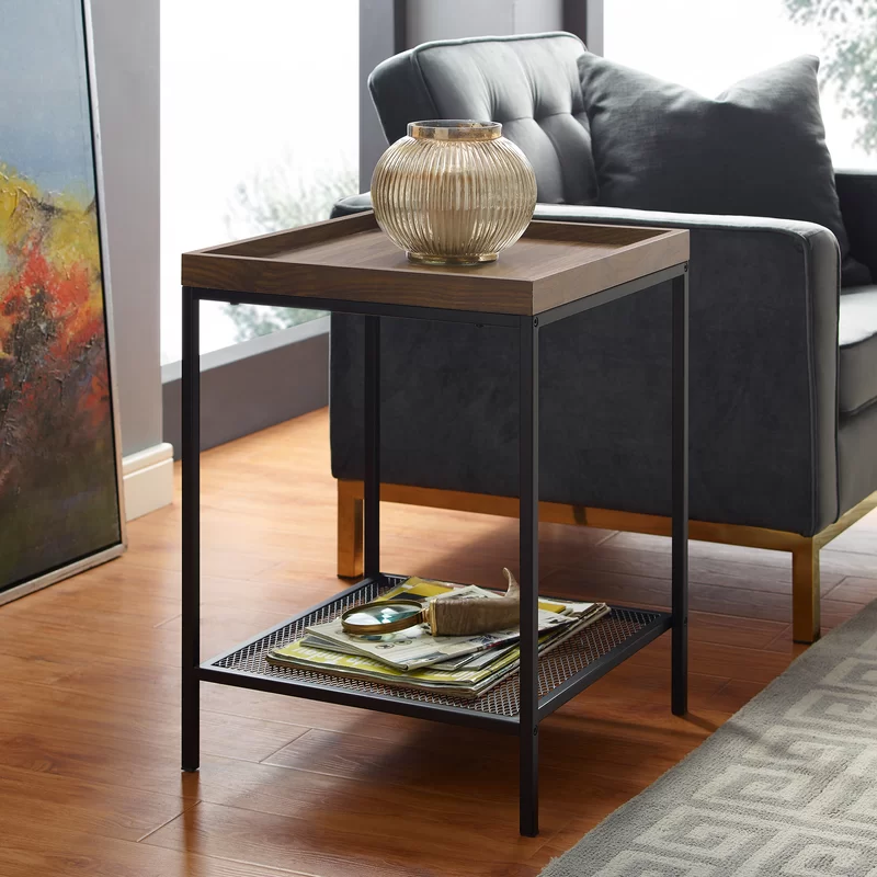 Pullman Tray Table Square Side Table Coffee Table Coffee Table