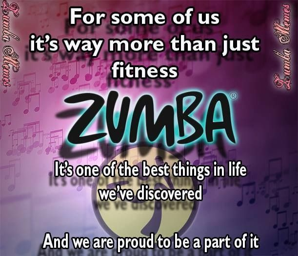 Yes. I have made some really great friends through Zumba ...