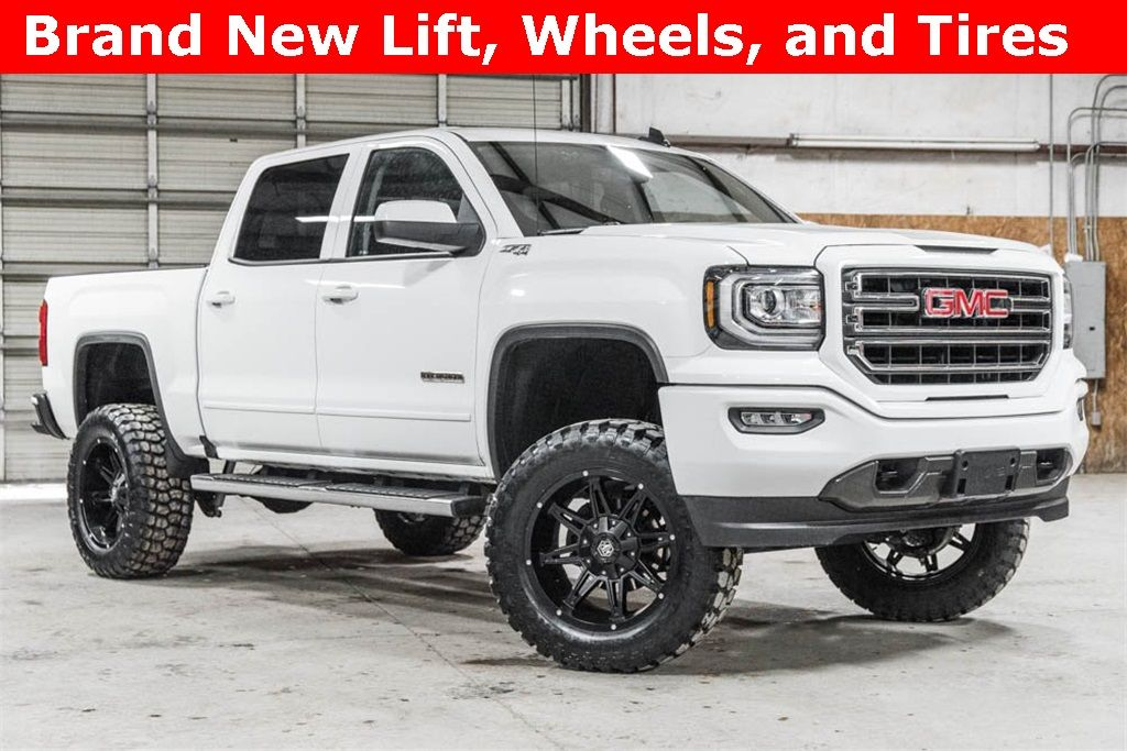 Available Online Lifted 2018 Gmc Sierra 1500 4x4 Crew Cab Sle Elevation Z71 42 988 Lifted Truck Lifted Trucks Trucks