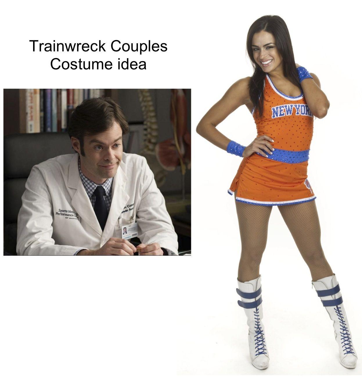 Trainwreck Movie Couple Doctor And Cheerleader Halloween Costume