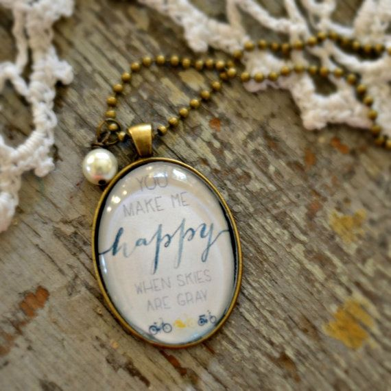 This beautiful 27 necklace designed by my dear friend Aimee will be the perfect touch to your outfit! With a sweet pearl on an antique bronze ball