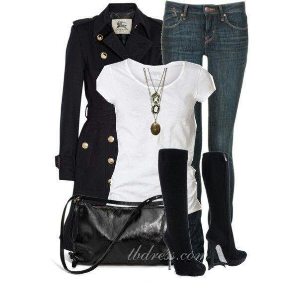 Cold weather chic!