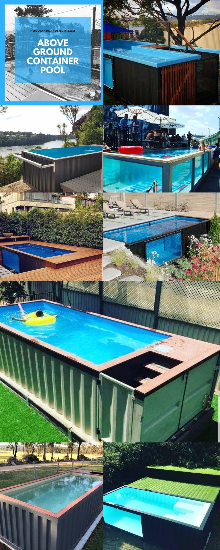 35 Awesome Shipping Container Pool Design Ideas With Images