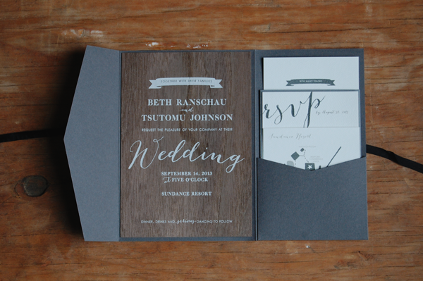 1000 images about your wedding invitation art style – Wood Invitations Wedding