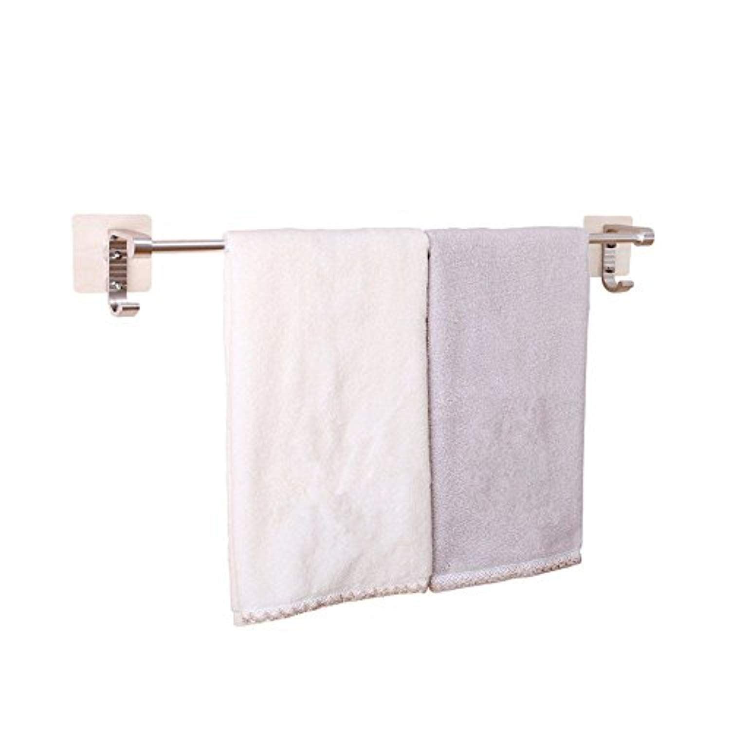 Flyrcx Bathroom Suction Cup Type Aluminium Towel Bar Toilet Individual Rack Details Can Be Found By Clicking On The Image