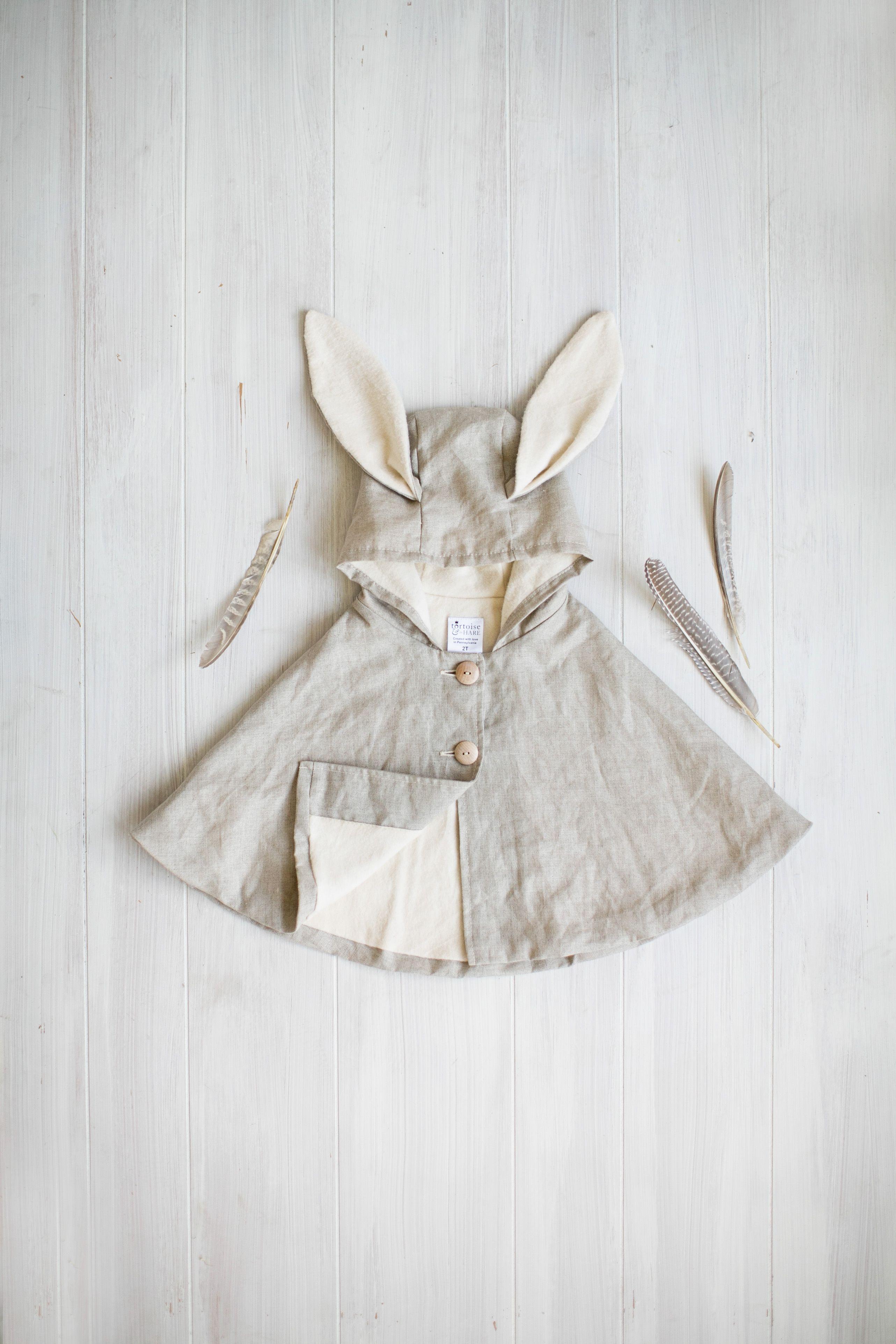 natural linen rabbit cape   Patrones De Costura   Pinterest   Ropa ...