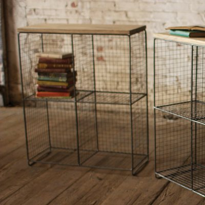 Dotted Line Bret Wire Cubby Console 36 25 H Shelving Unit In 2020 Cube Shelving Unit Storage Shelves Metal Shelving Units