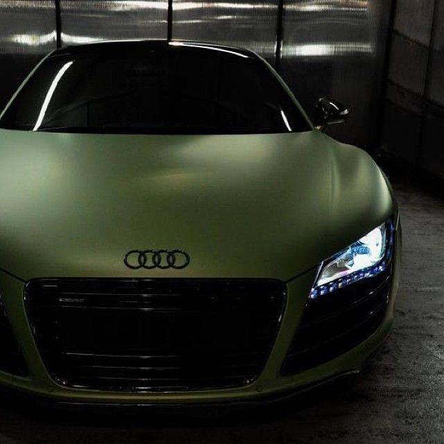 2017 Audi R8, #Audi #AudiR8 Audi Le Mans Quattro, #Green