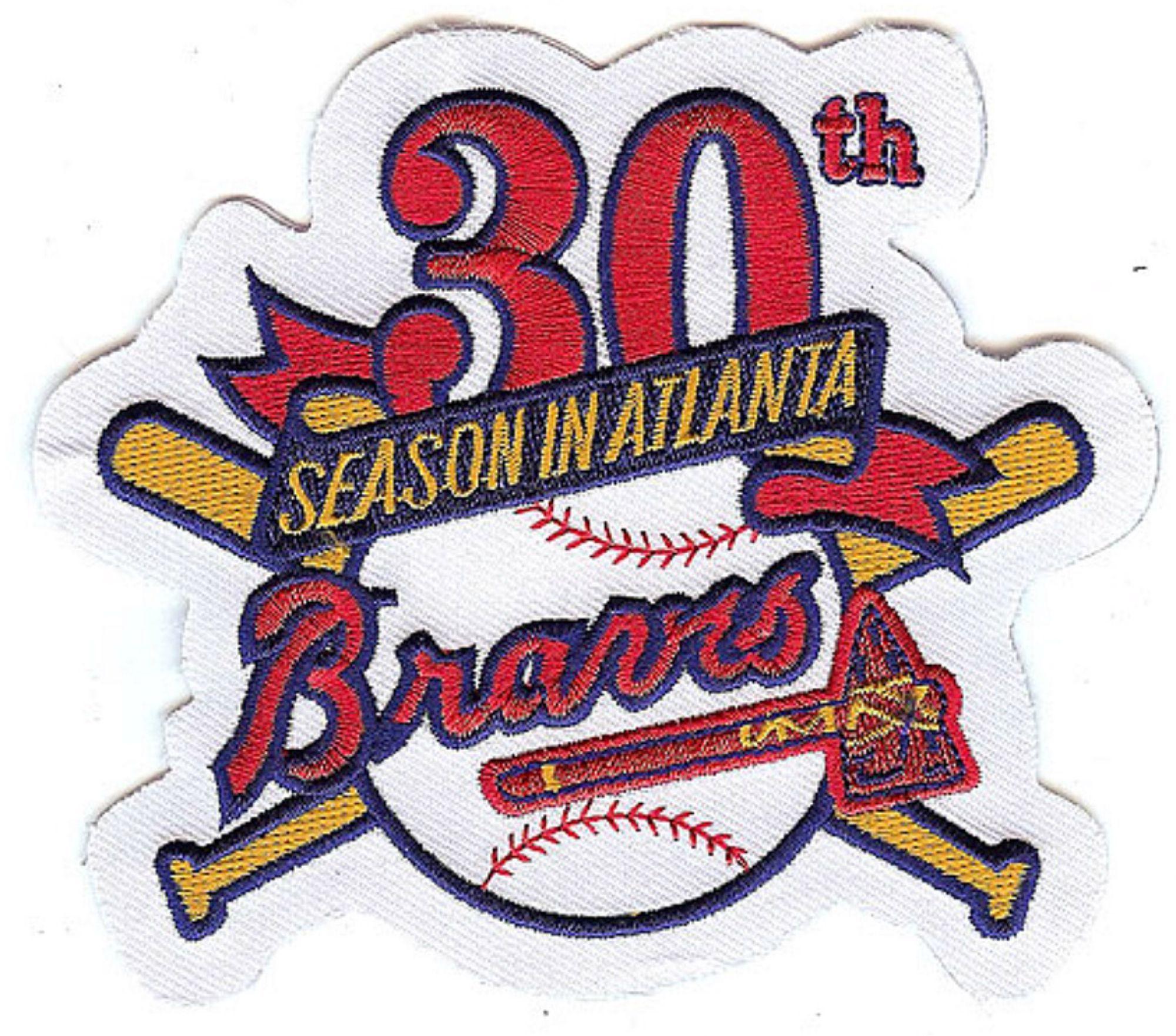 Atlanta Braves 30th Anniversary Atlanta Braves Braves Athletics Logo