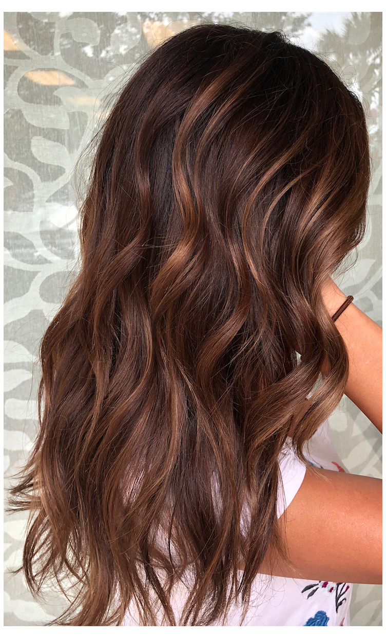 A Guide To Find Out What Hair Color Best Matches Your Skin Tone Chocolate Brown Hair In 2020 Dark Hair With Highlights Brown Hair With Highlights Hair Color Auburn