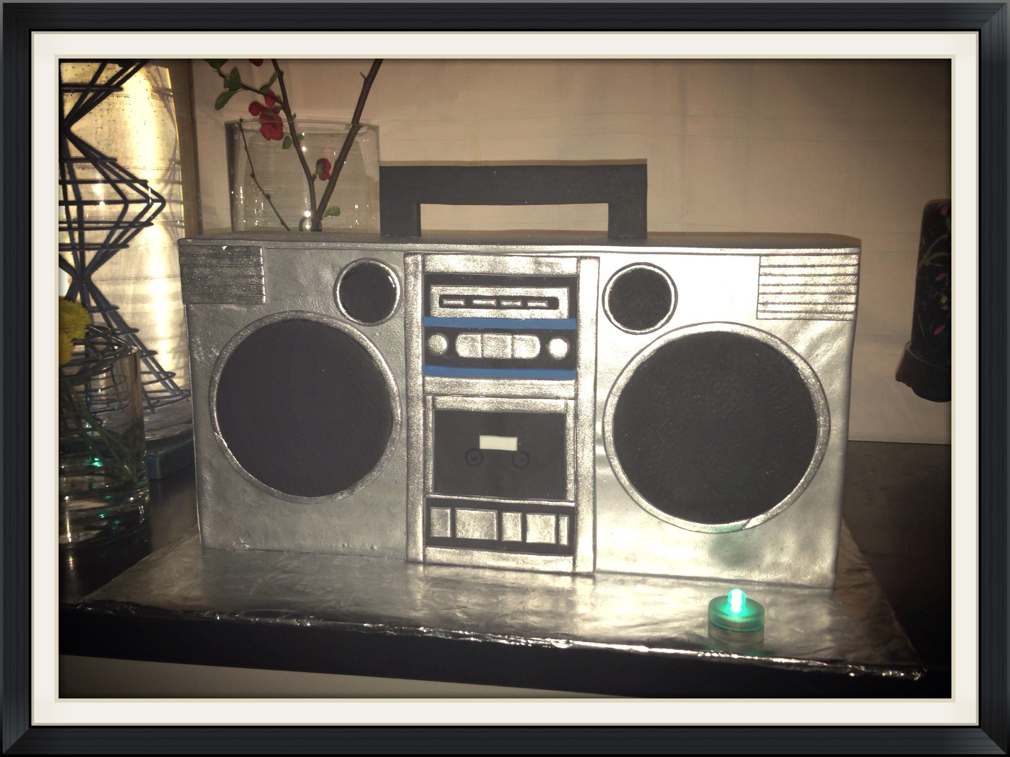 Boom Box Cake By Www Custombakedcakes Com 80s Theme Party 80s Theme Chamber Dinner