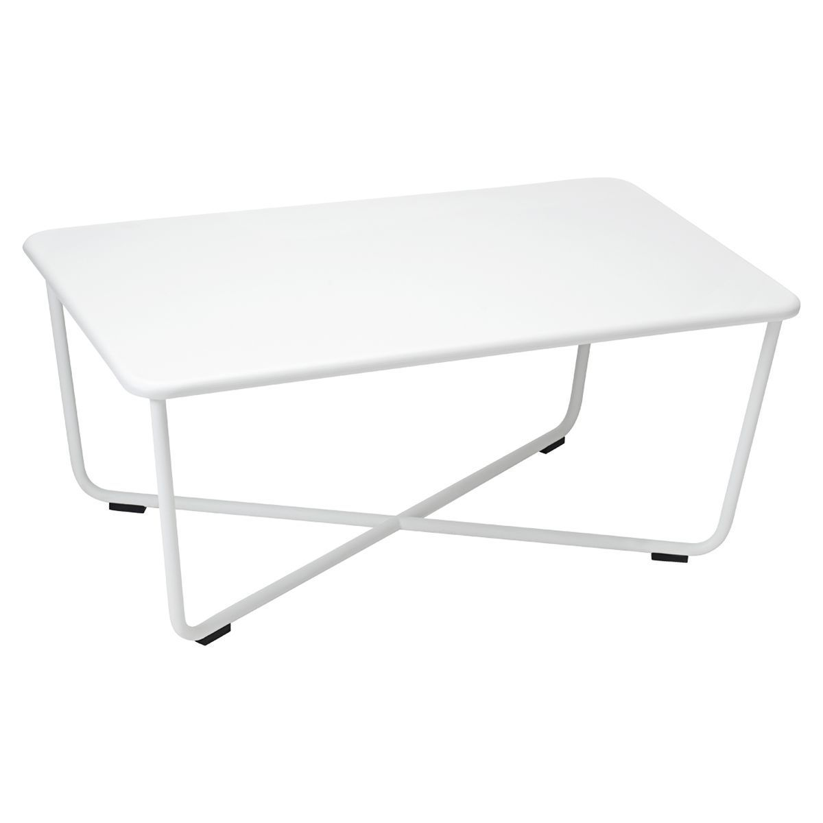 Cotton White Low Tables Metal Coffee Table Outdoor Coffee Tables