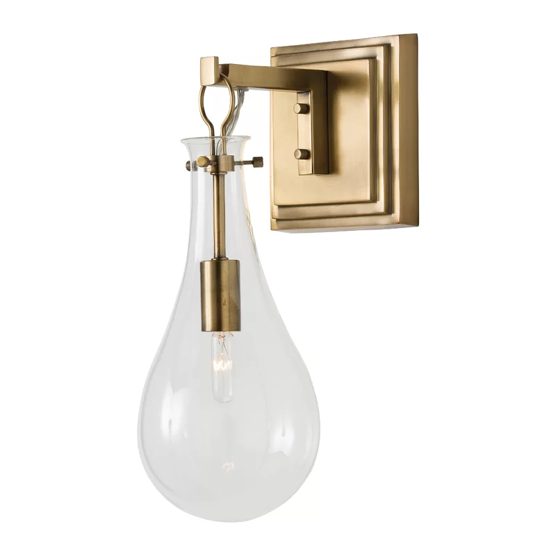Sabine 1 Light Dimmable Armed Sconce Sconces Wall Lights Wall Sconce Lighting