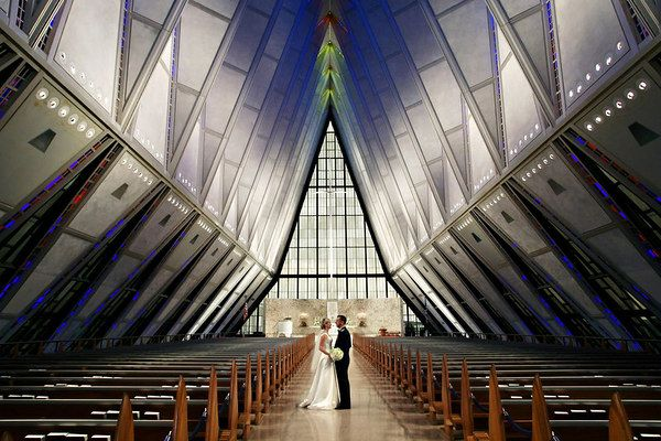 Air Force Wedding Ideas | Air Force Academy Chapel | Before you say ...