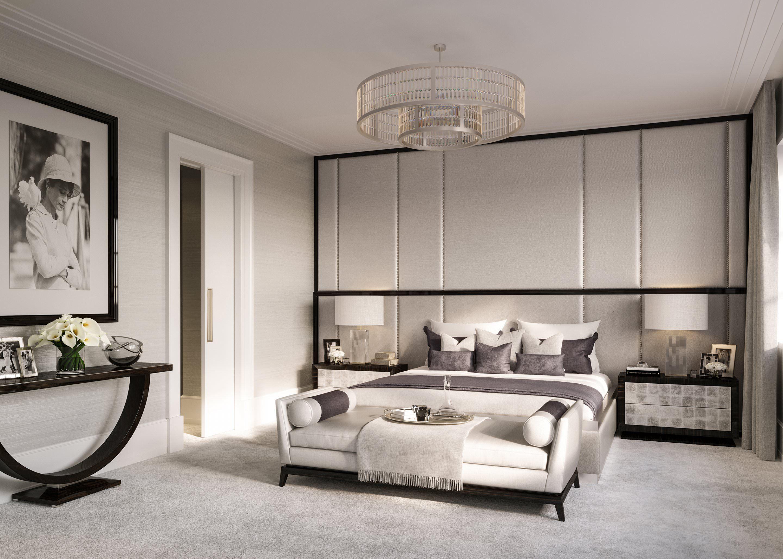 Luxury interior design of apartment in brownstone