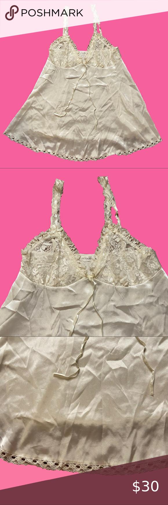Victories Secret White Lace Slip Dress Victoria Secret White Silk Lace Slip Dress With White Bow Victoria S Secret Intimat Lace Slip Lace Slip Dress Slip Dress [ 1740 x 580 Pixel ]